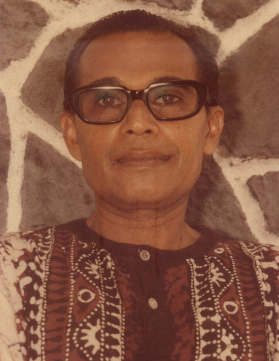 In 1927, <b>Arisen Ahubudu</b> entered the Kataluwa Government School. - Sri-lankan-poet-Arisen-Ahubudu