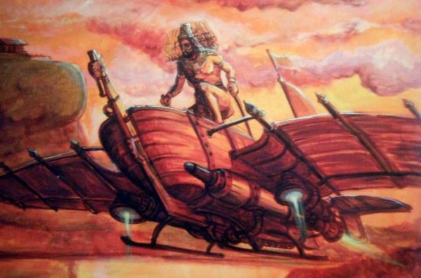 The Ancient Emperor Ravana