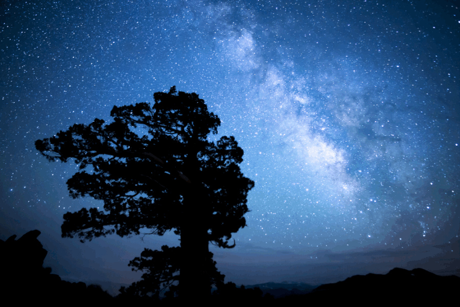 night sky poem