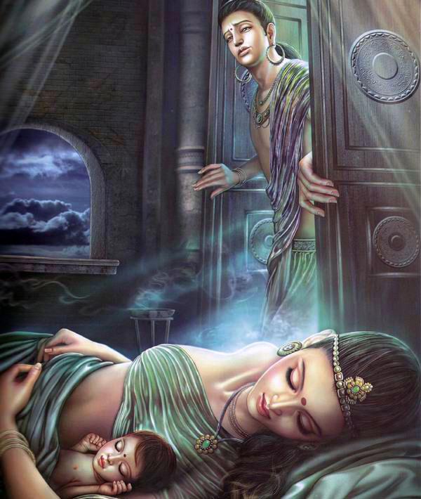 Buddha-leaving-yashodhara